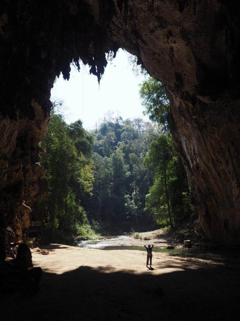 Lad Cave in Thailand