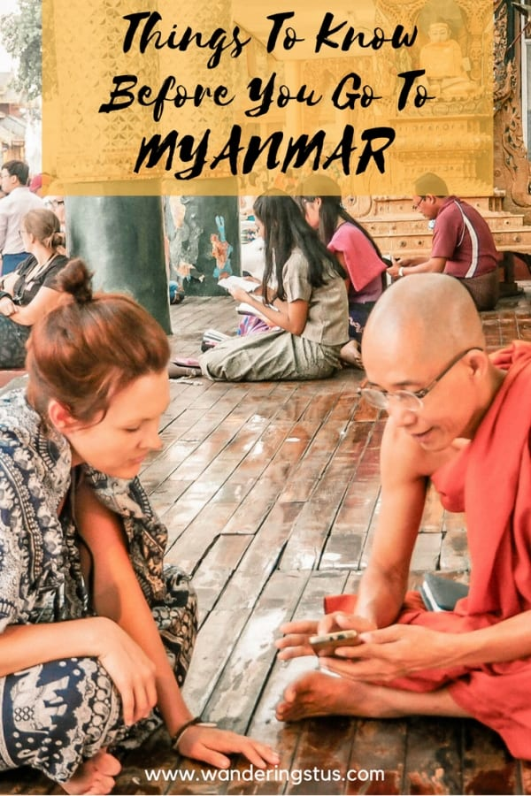 Know Before You Go To Myanmar Pin