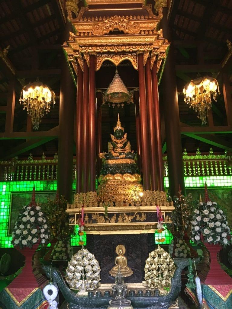 Wat Phra Kaew in Chiang Rai, Thailand