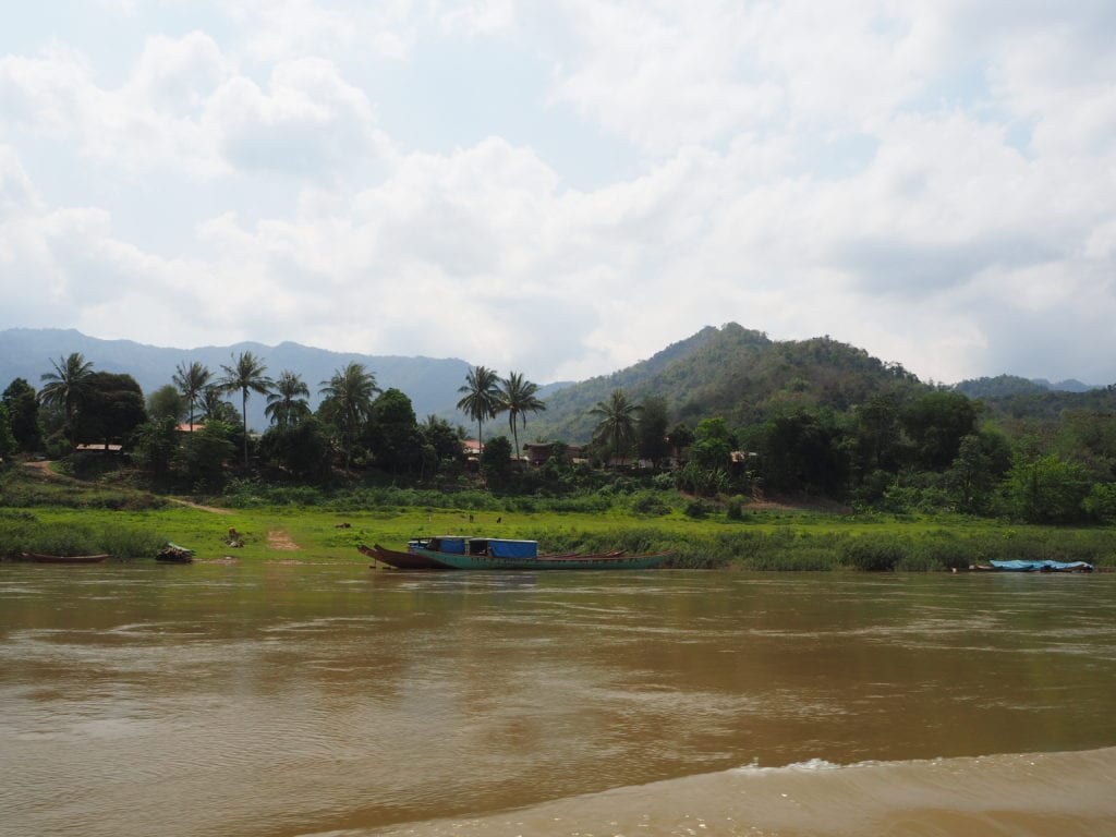 Slow Boat to Laos River Views