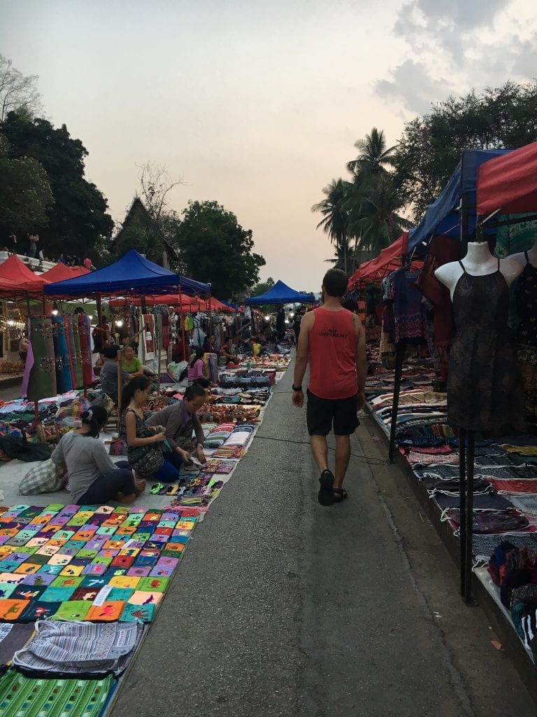 Luang Prabang Laos Night Market