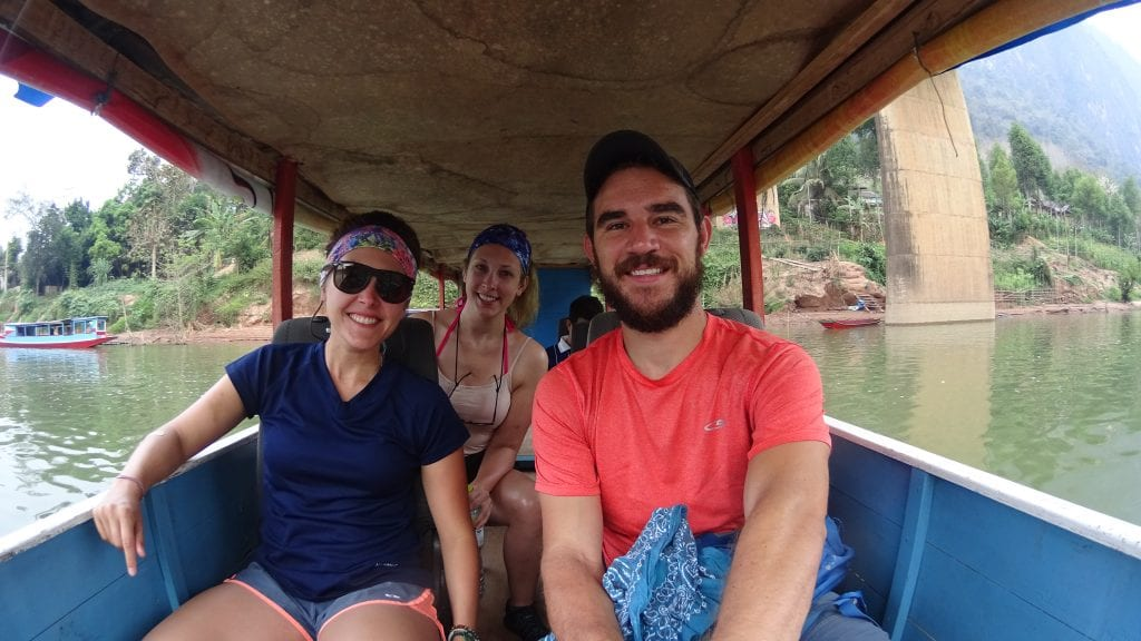 Boat Ride on the Nam Ou River