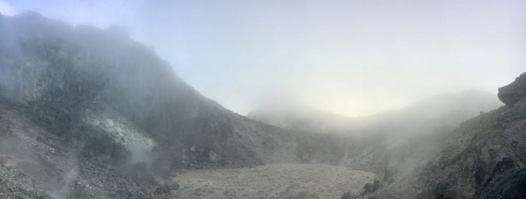 Sunrise volcano hike in Berastagi