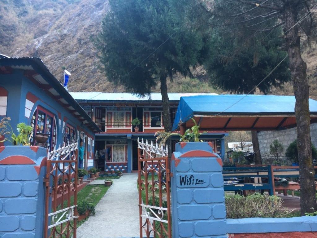 Teahouses on the Annapurna Circuit