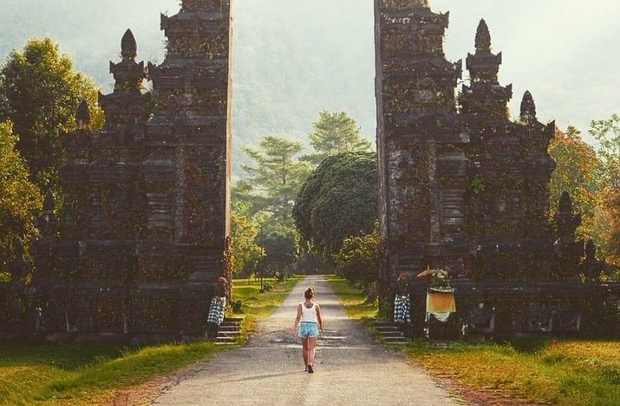 Handara Gate in Bali