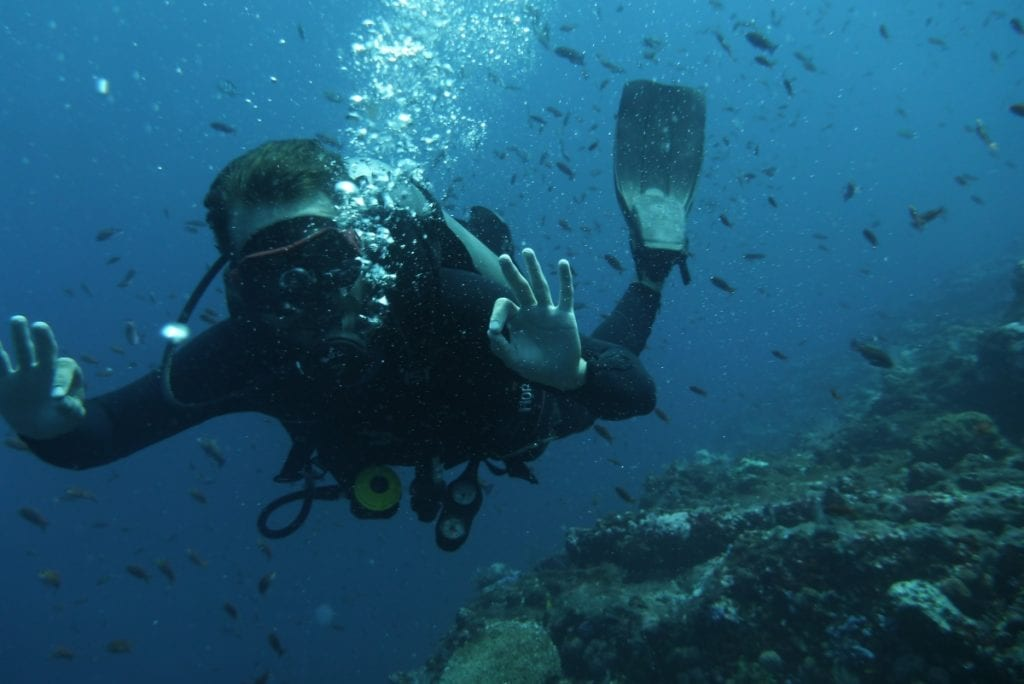 Open Water Scuba Diving in Asia