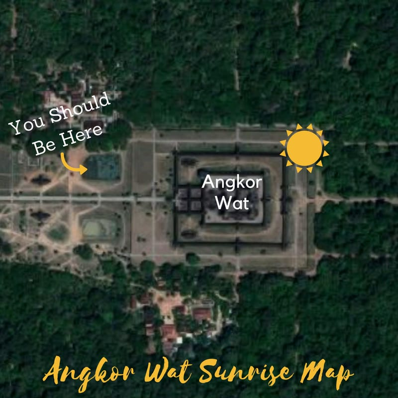Where To See Angkor Wat's Sunrise