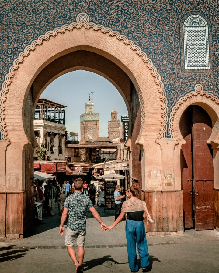 Bab Bou Jeloud, The Blue Gate of Fes