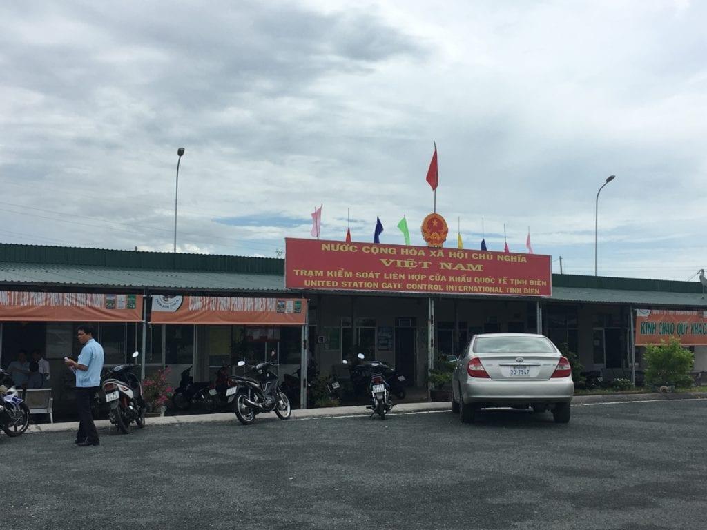 Tinh Bien, Vietnam Border Check Point