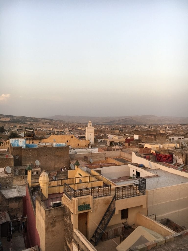 Fes Medina at Sunset