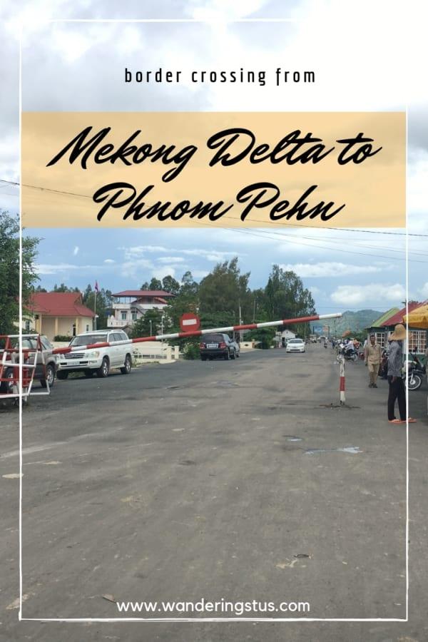 Vietnam to Cambodia Border Crossing Pin