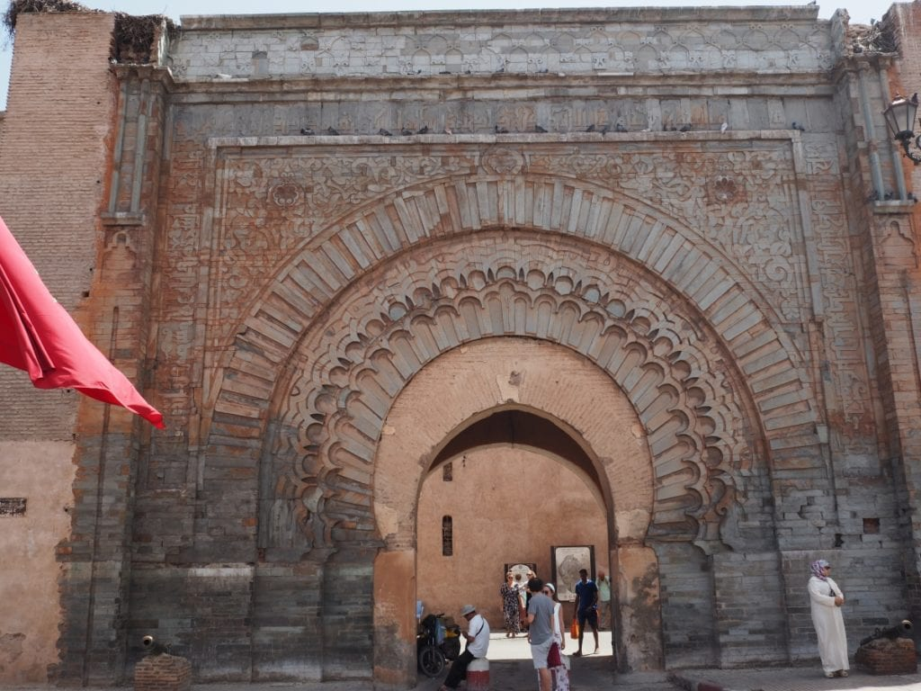 The Bab Agnaou Gate in Marrakech