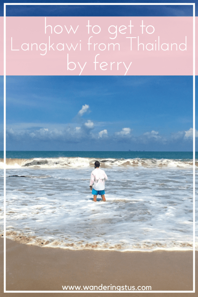 Thailand to Langkawi by Ferry Pin