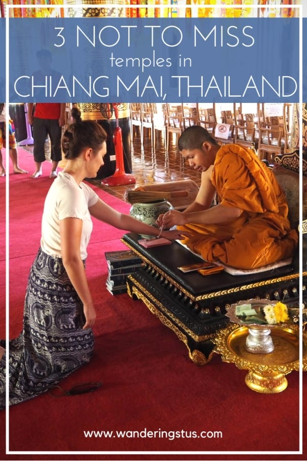 temples not to miss in Chiang Mai, Thailand