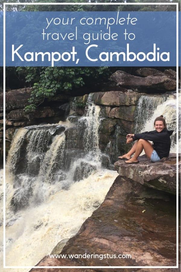 Kampot, Cambodia pin