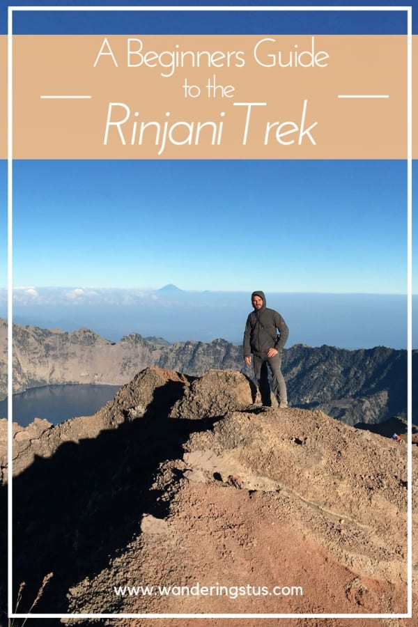 Rinjani Trek Pin