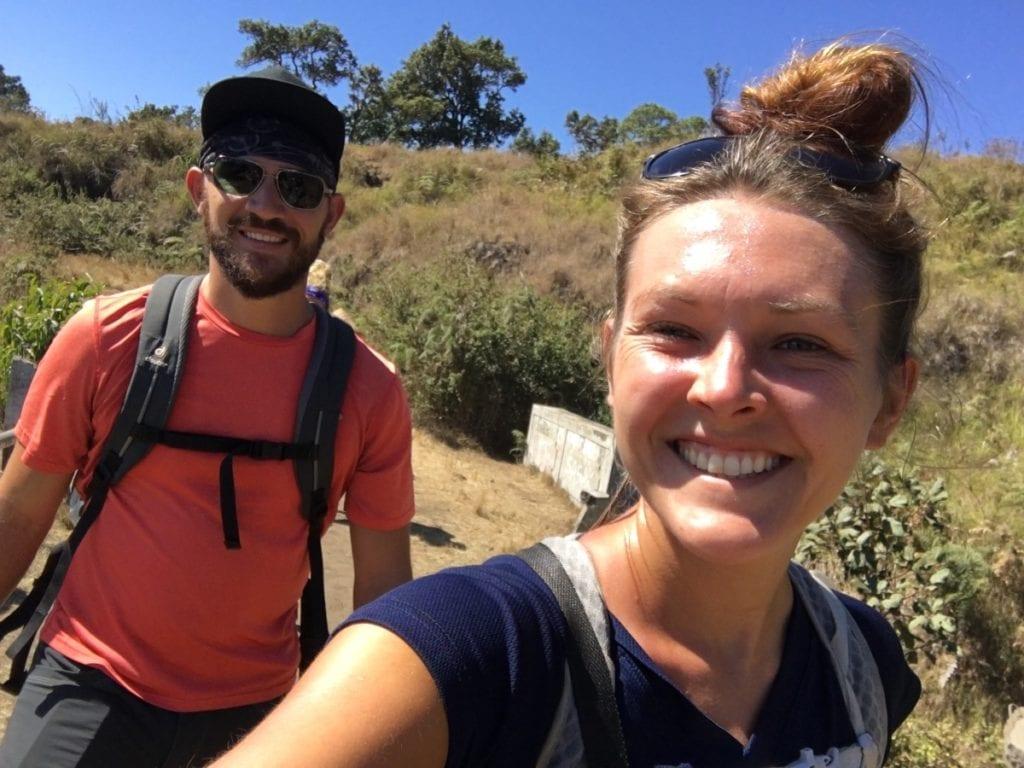 wandering stus hiking on lombok