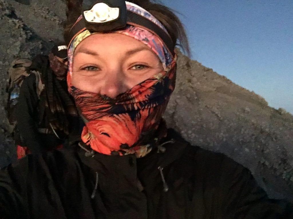 Hiking to the summit of Rinjani for Sunrise