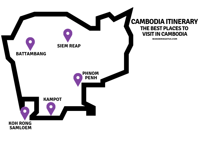 Best places to visit in Cambodia