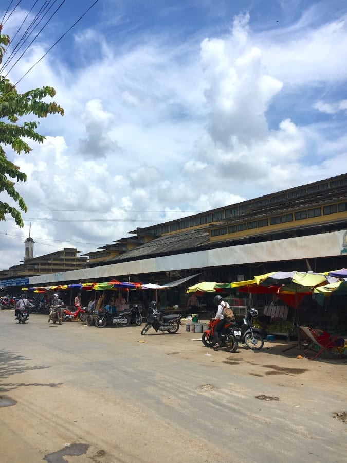 The Phsar Nath Market in Battambang
