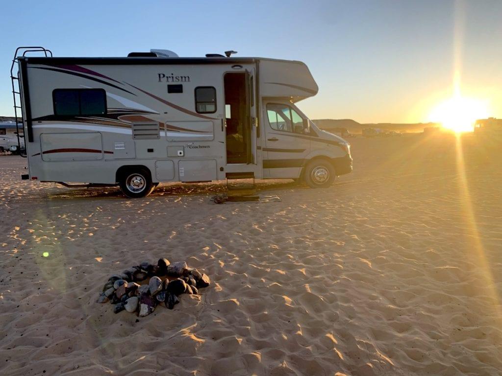 Arizona Road trip Camping