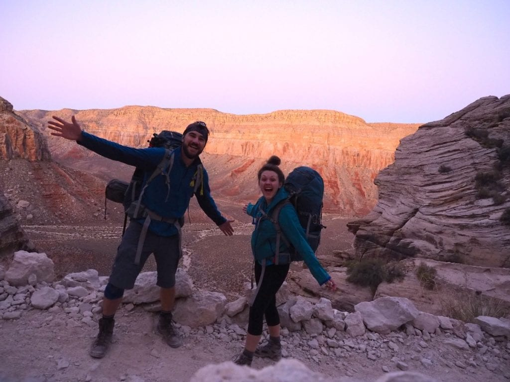 Hiking to Havasu Falls