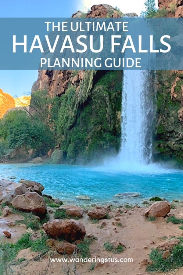 Havasu Falls Hike Planning Guide Pin