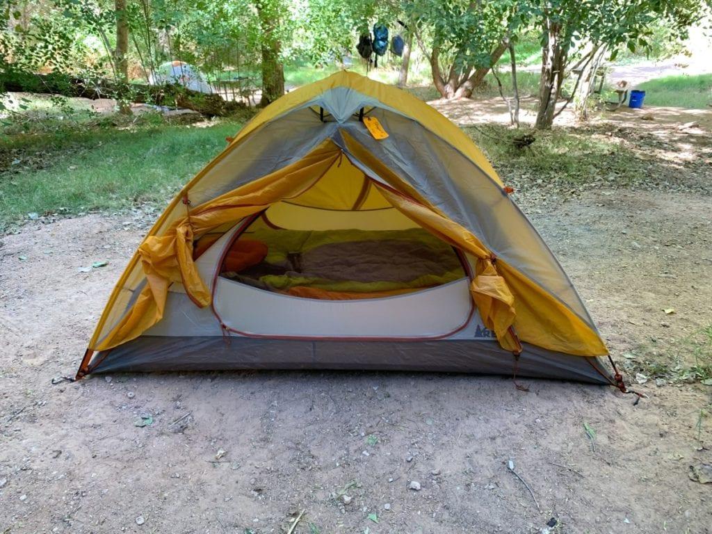 Havasupai Falls Permit On Our Tent