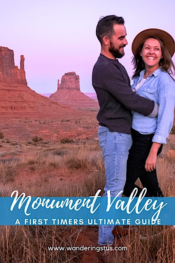 Visiting Monument Valley Pin